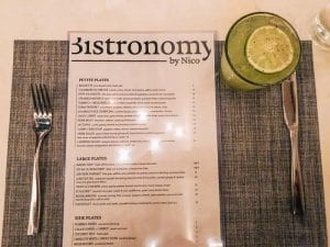 Tequila Salad at Bistronomy