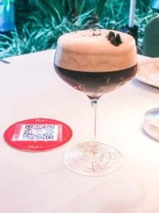 """Espresso Martini """"Shakerato"""" from Melfi's"""