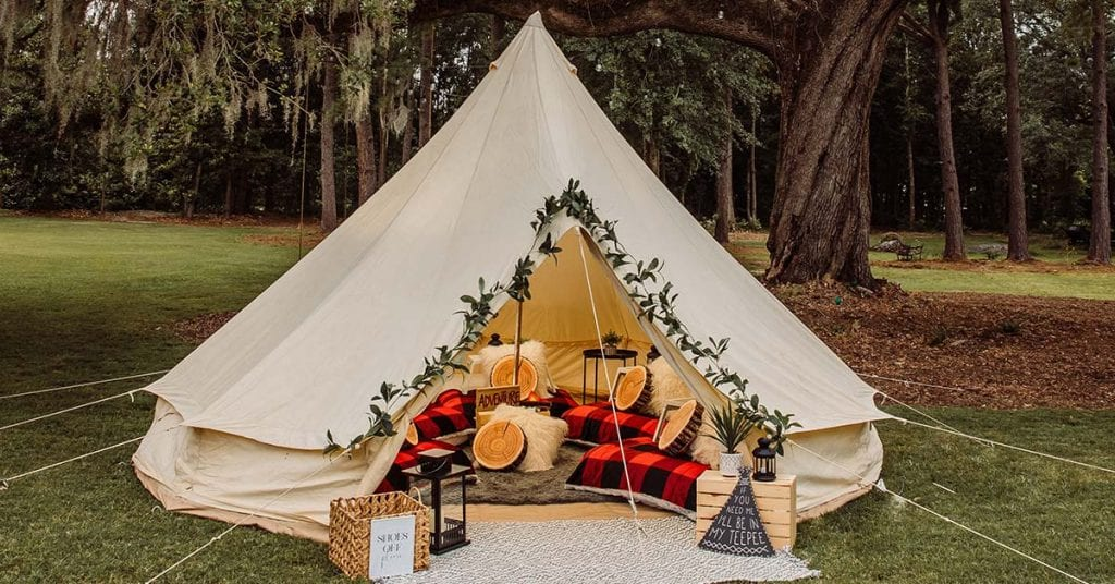 Glamping Experience in Charleston SC